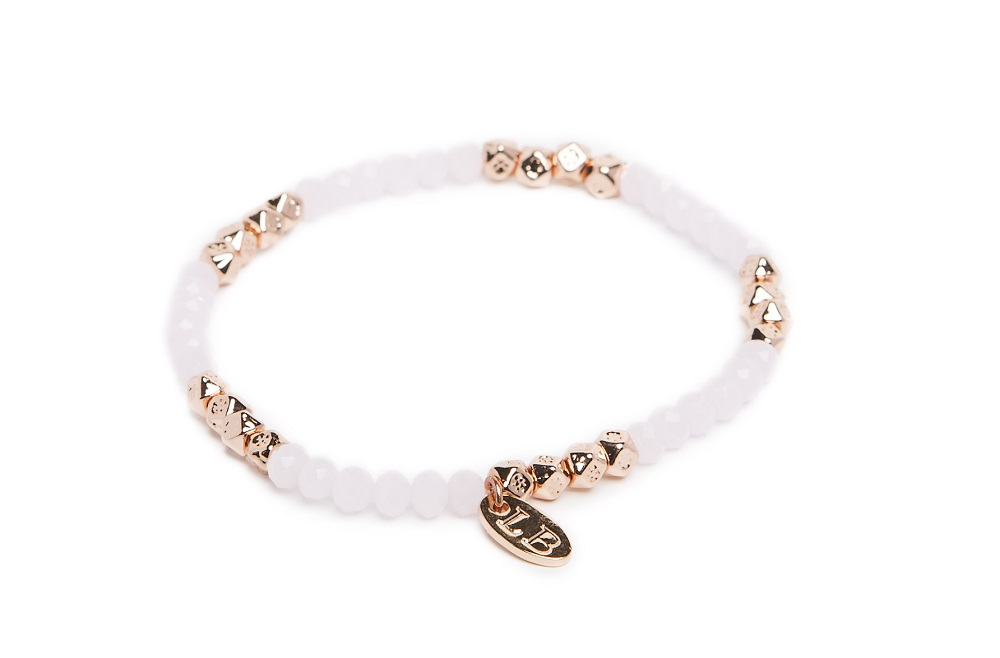 Bollywood Powder Pink & Pink Gold | Labussé Bracelet