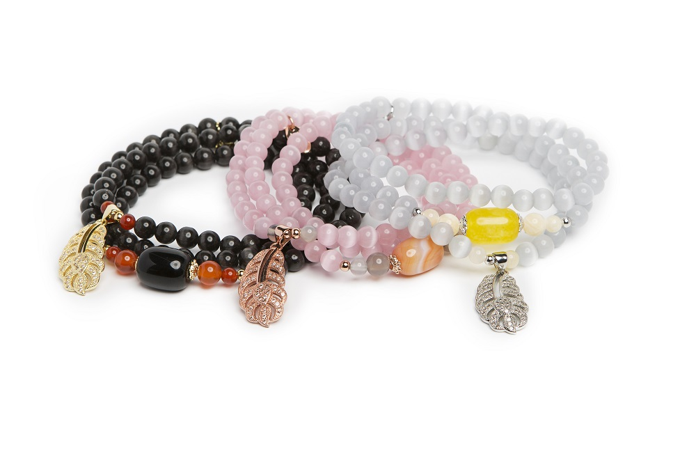 INDIA | POWDER PINK & PINK GOLD BRACELET