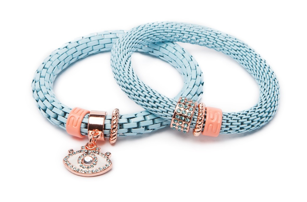 THE SNAKE STRASS | BABY BLUE BY YOU & EYE