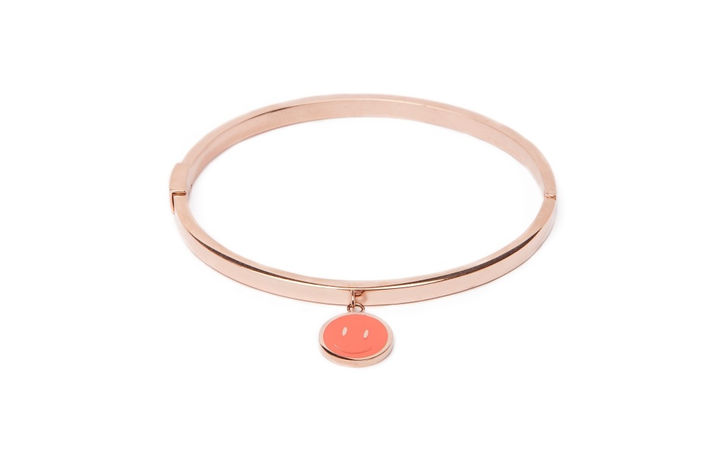 THE BANGLE CHARM | ROSÉ ALL DAY & SMILEY CORAL