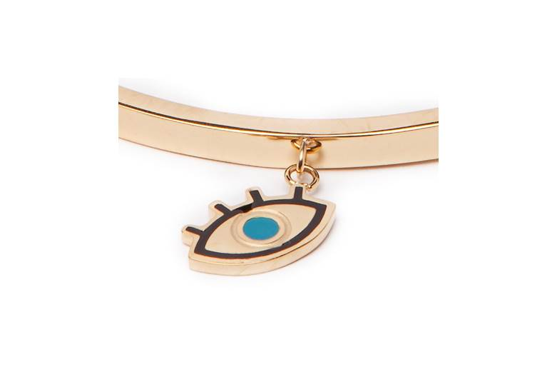 THE BANGLE CHARM | GOLD OUT & EYE