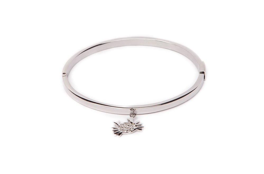 THE BANGLE CHARM | SO SILVER & CRAB