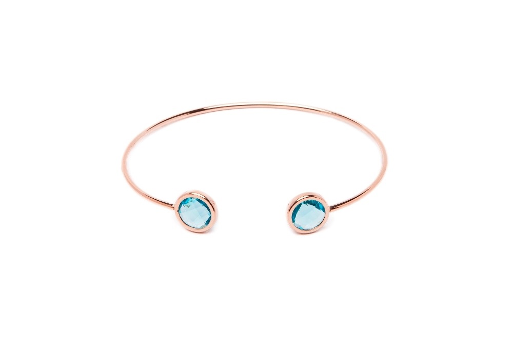 The Esclave Color | Pink Gold & Blue