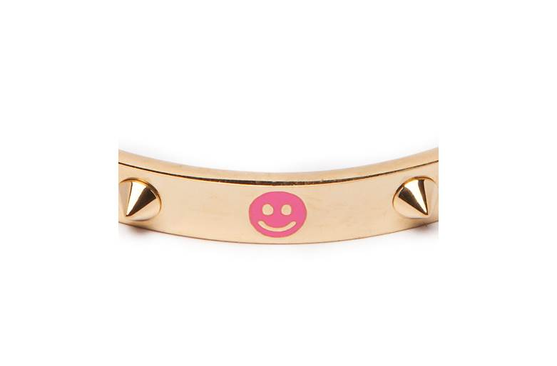 THE BANGLE STUDS | GOLD OUT & SMILEY