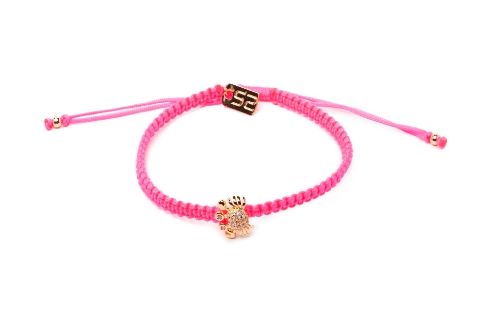 The Color Cord Oh Flamingo & Crab | Silis Bracelet