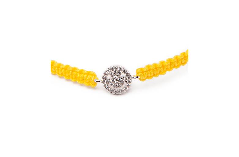The Color Cord Yellow Mellow & Smiley | Silis Bracelet