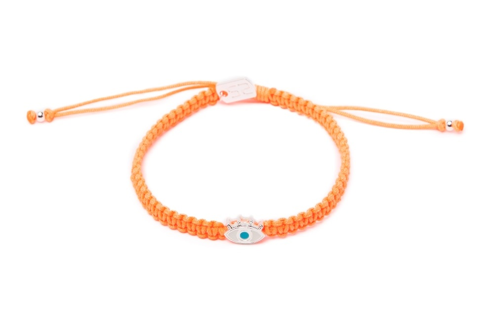 The Color Cord Just Orange & Eye | Silis Bracelet