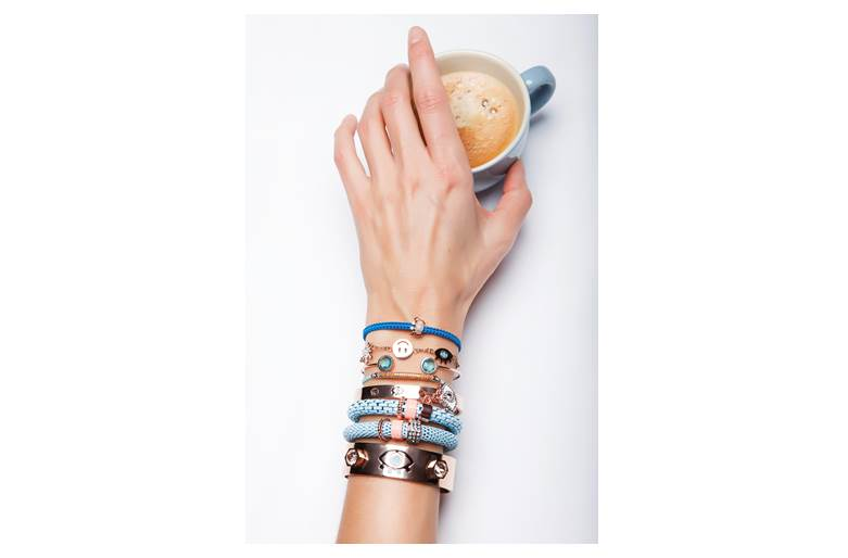 The Bangle XL Rosé All Day & Eye | Silis Bracelet