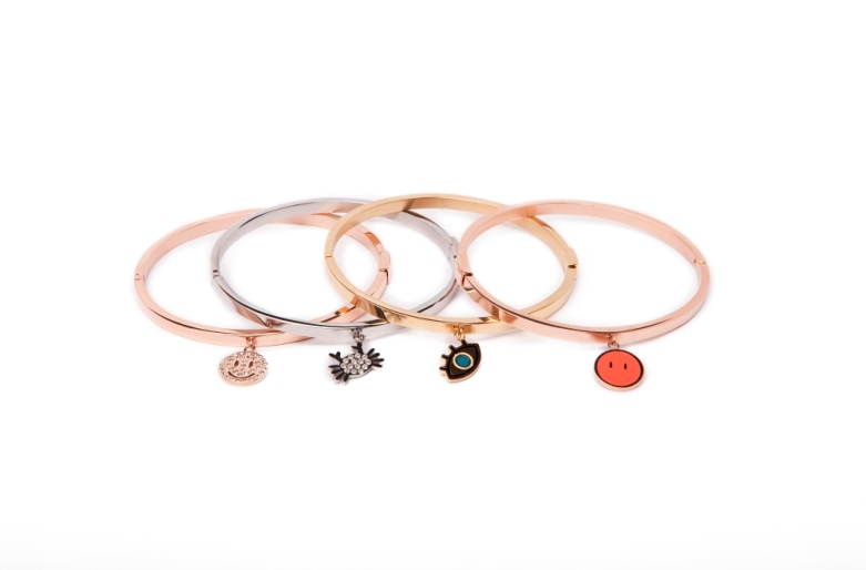 THE BANGLE CHARM | ROSÉ ALL DAY & SMILEY STRASS