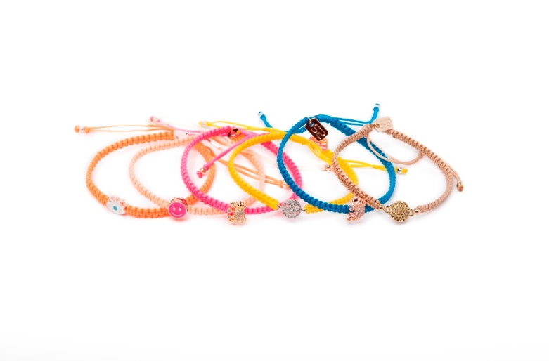 The Color Cord Blue Lagoon & Crab | Silis Bracelet