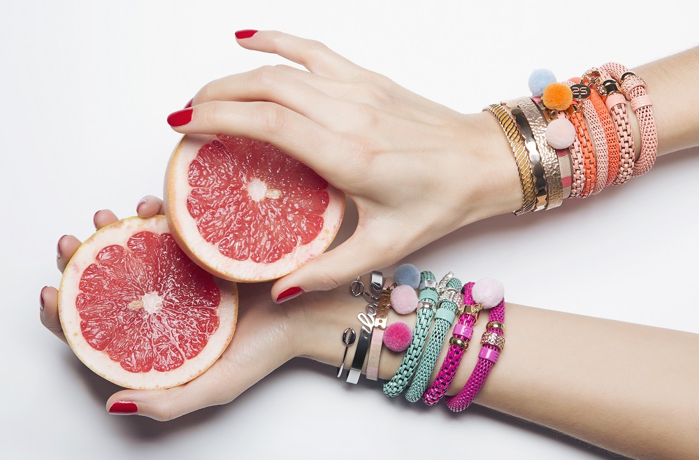 The Snake Mix Papaya Punch | Silis Bracelet