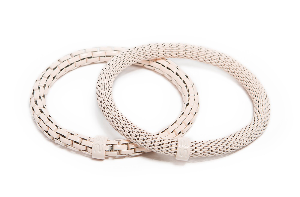 The Snake Mix Soft Pink | Silis Bracelet Ø5.5mm