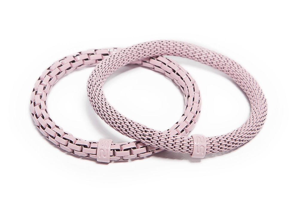 The Snake Mix Ice-Cream Pink | Bracelet Ø5.5mm