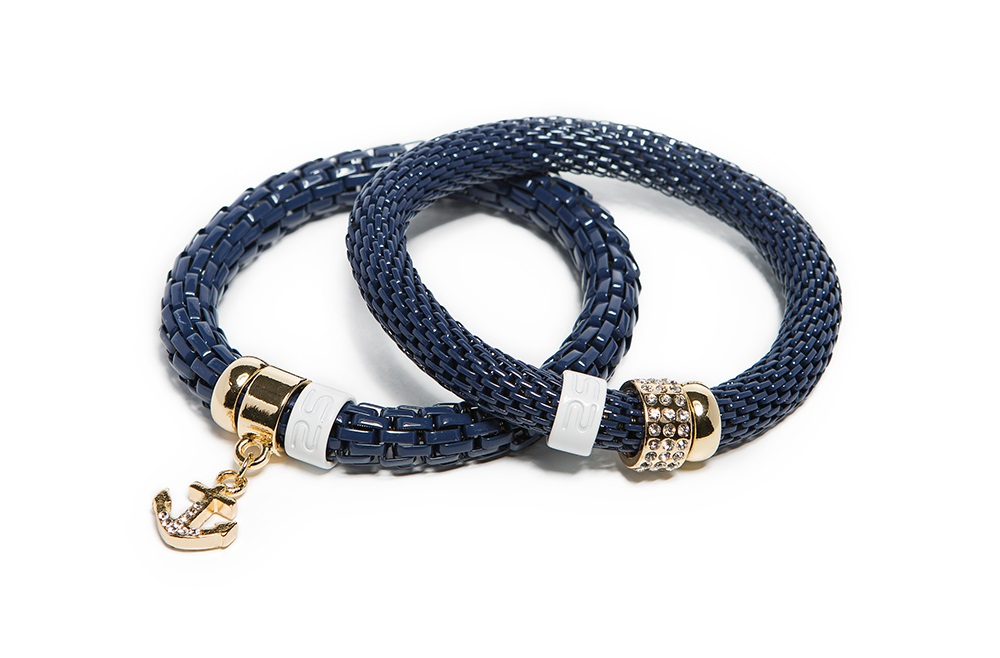 True Navy & Anchor | Bracelet Ø8mm