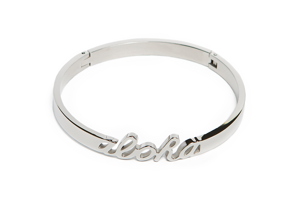 The Bangle Aloha | So Silver