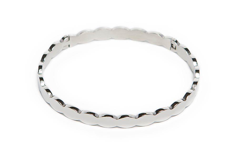 The Bangle Small Sculpture | So Silver