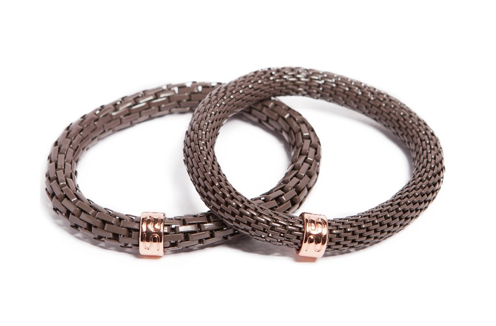 The Snake Mix Take Me Inside Taupe | Silis Bracelet