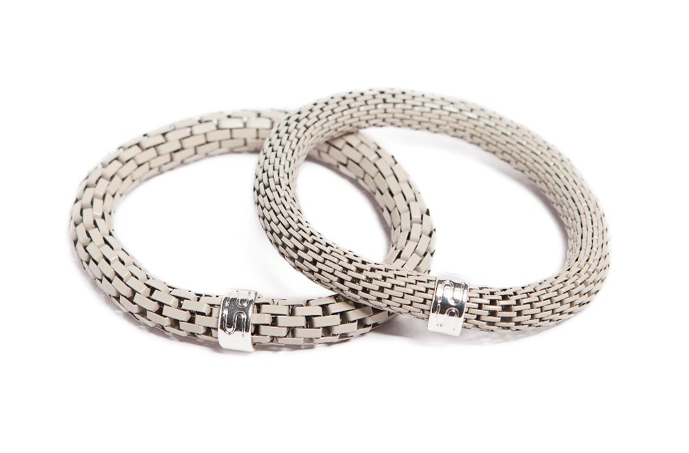 The Snake Mix Dancing Snow Grey | Silis Bracelet