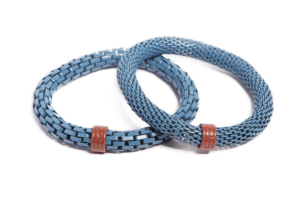 The Snake Mix Beau Winter Blue | Silis Bracelet