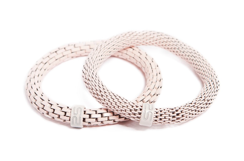 The Snake Mix Marshmallow Pink | Silis Bracelet