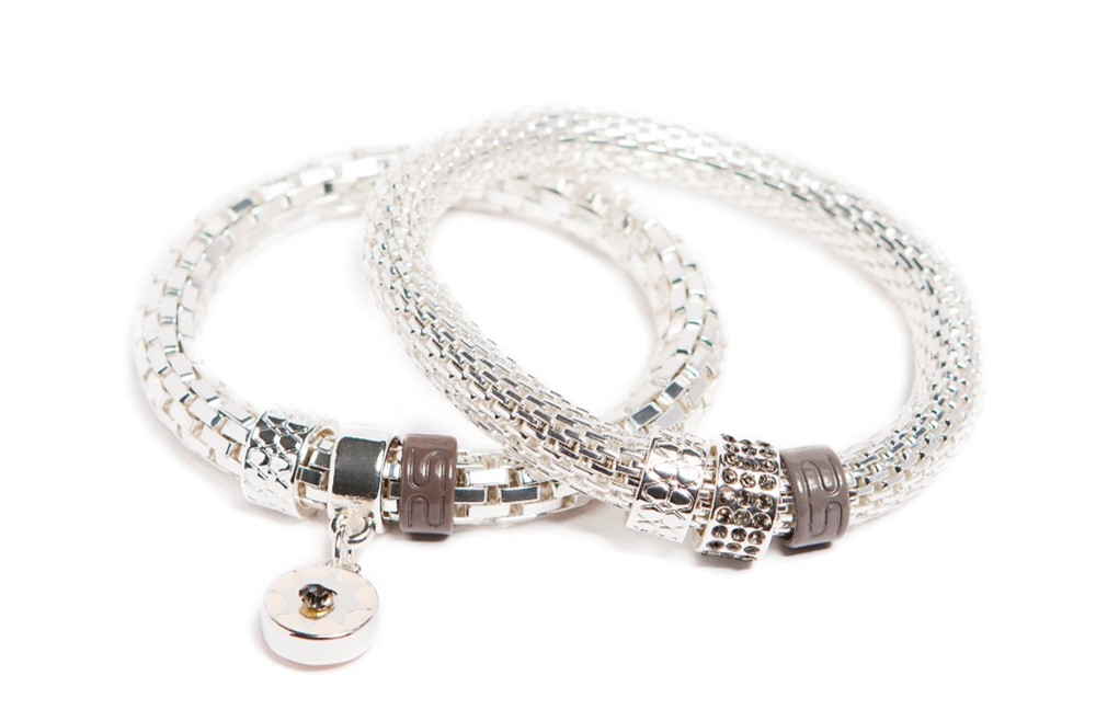THE SNAKE STRASS | SO SILVER & STAR CHARM