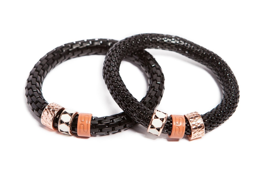 THE SNAKE STRASS | CLASSIC BLACK & ENAMEL