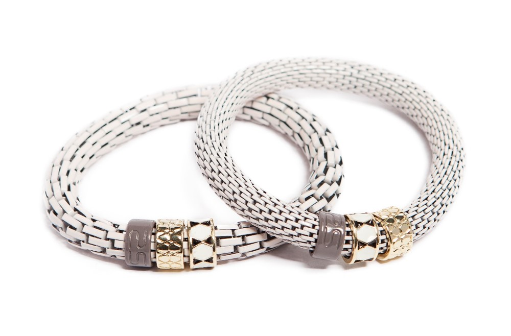 The Snake Strass | Nudes & Enamel