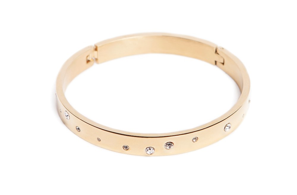 THE BANGLE MULTISTRASS | GOLD OUT