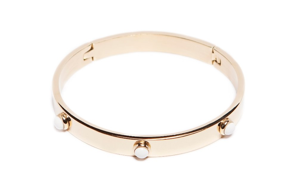 The Bangle Color Studs Gold Out | Silis Bracelet