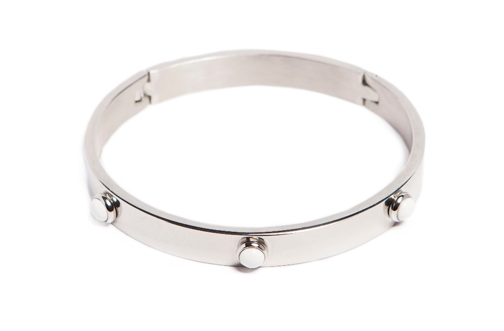 The Bangle Color Studs So Silver | Silis Bracelet