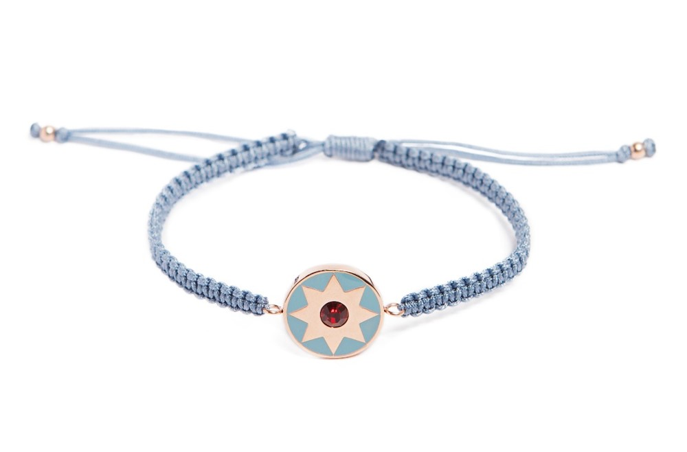 THE COLOR CORD | BEAU WINTER BLUE & STAR CHARM