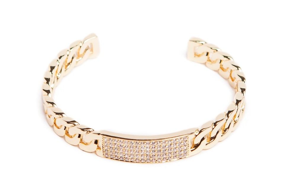 THE CHAIN STRASS | GOLD OUT