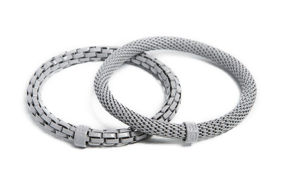 The Snake Mix Morning Dawn Grey | Silis Bracelet