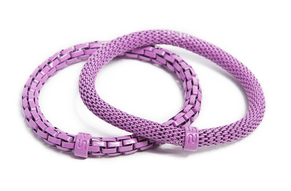 The Snake Mix Raspberry Pink | Silis Bracelet