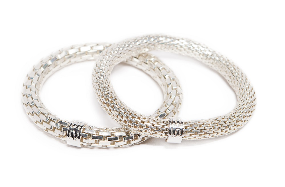 The Snake Metal Ø8mm So Silver | Silis Bracelet