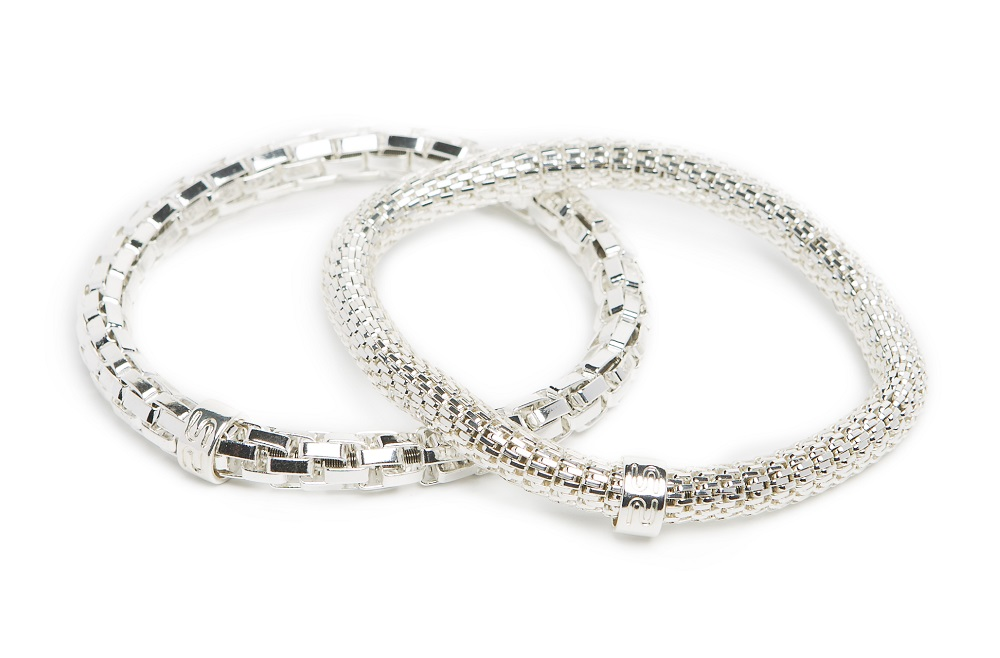 New Ø5.5mm The Snake Metal So Silver | Silis Bracelet