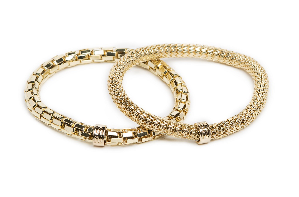 New Ø5.5mm The Snake Metal Gold Out | Silis Bracelet