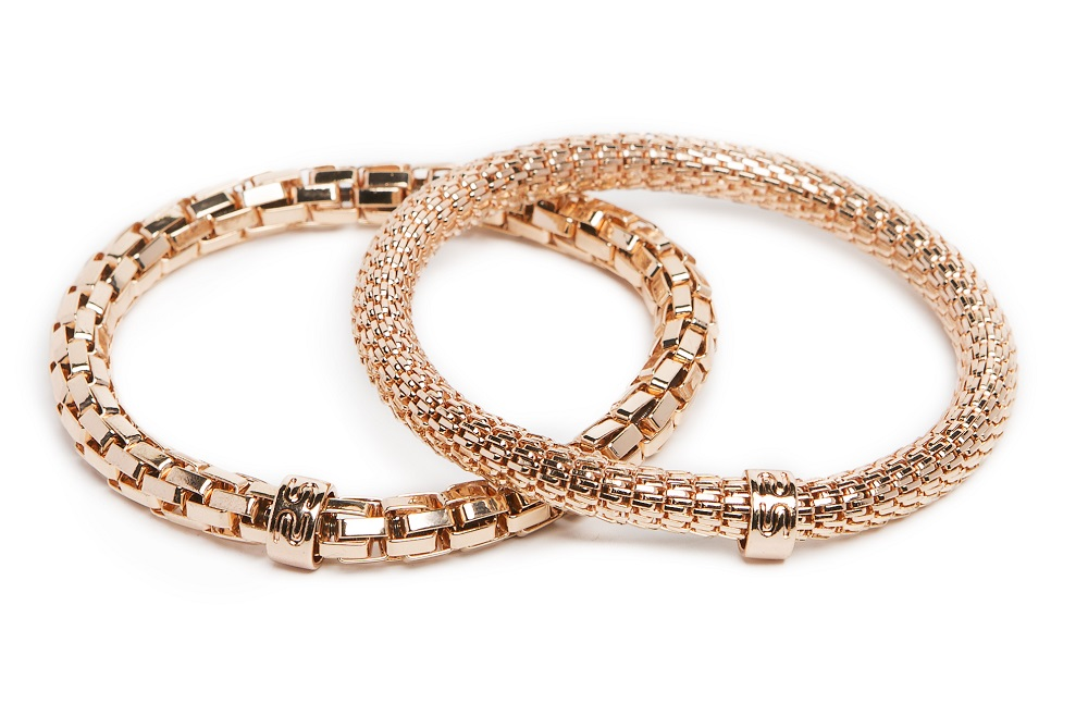 New Ø5.5mm The Snake Metal Rosé All Day | Silis Bracelet