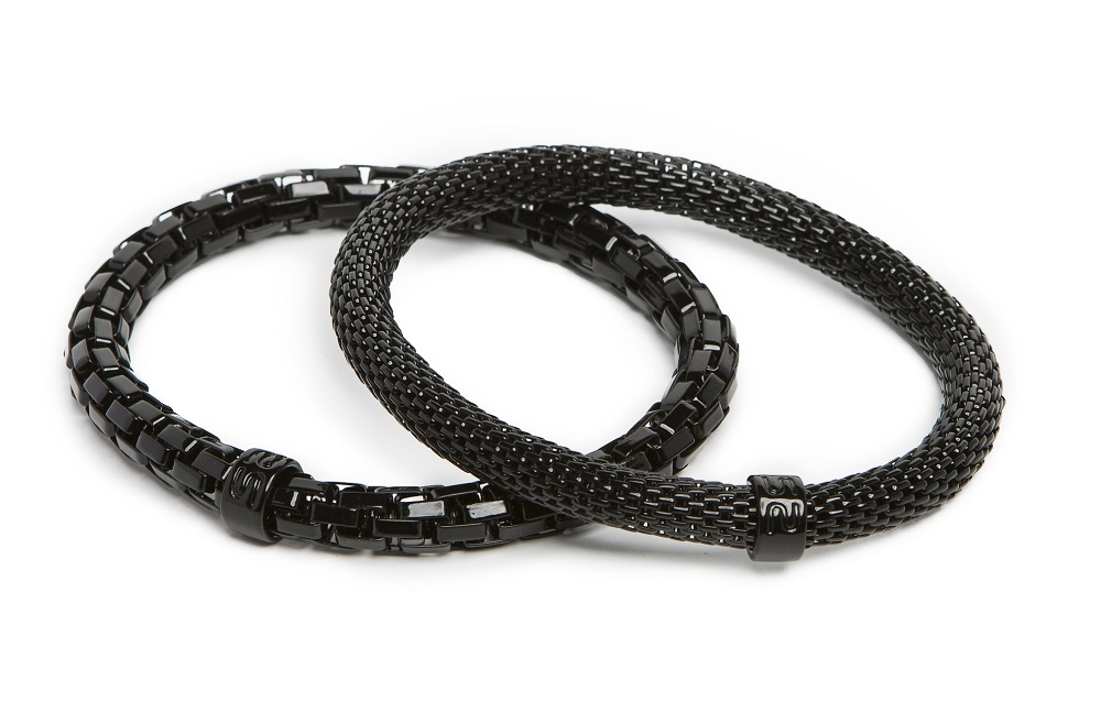 New Ø5.5mm The Snake Metal Classic Black | Silis Bracelet