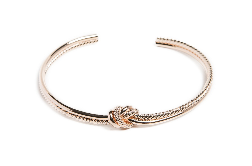 The Esclave Knot Rosé All Day | Silis Clamp Cuff Bracelet
