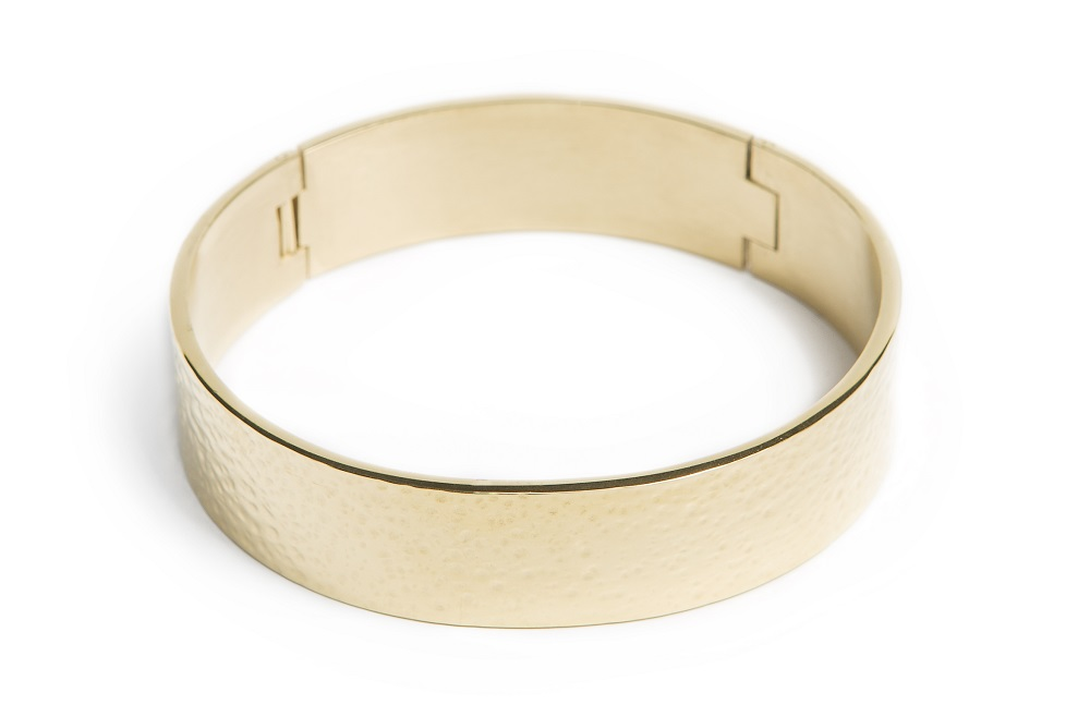 THE BANGLE XL | GOLD OUT | SILIS ARMBAND