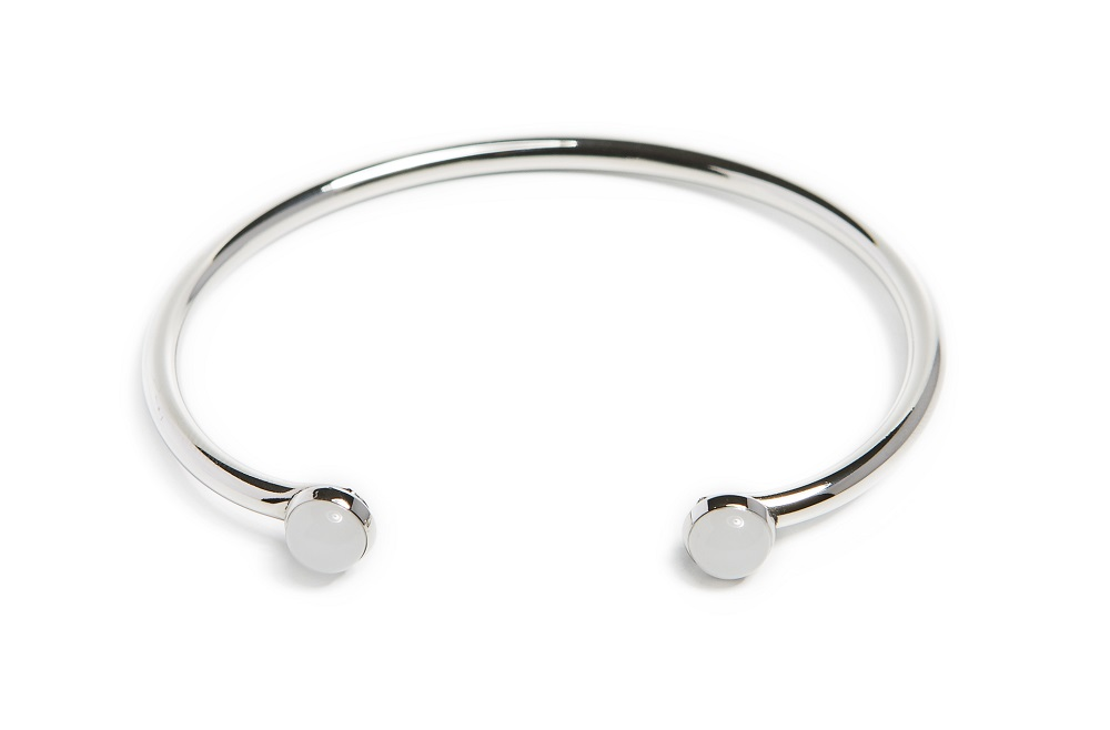 The Esclave Color Studs So Silver | Silis Clamp Cuff Bracelet