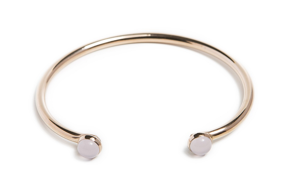 The Esclave Color Studs Rosé All Day | Silis Clamp Cuff Bracelet