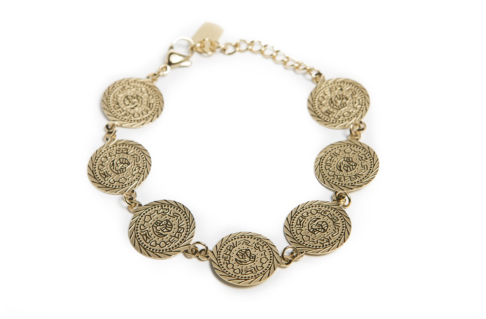 THE CHARM GYPSY | GOLD OUT | SILIS ARMBAND