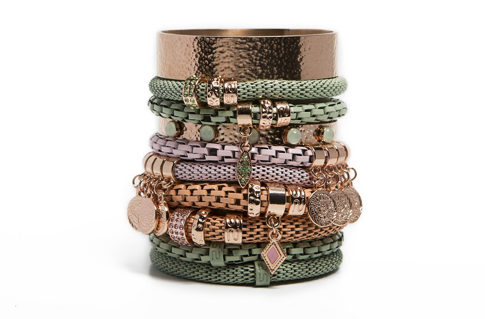The Snake Mix Mysterious Green | Silis Bracelet