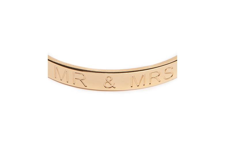 THE BANGLE BRIDAL | MR & MRS | GOLD OUT