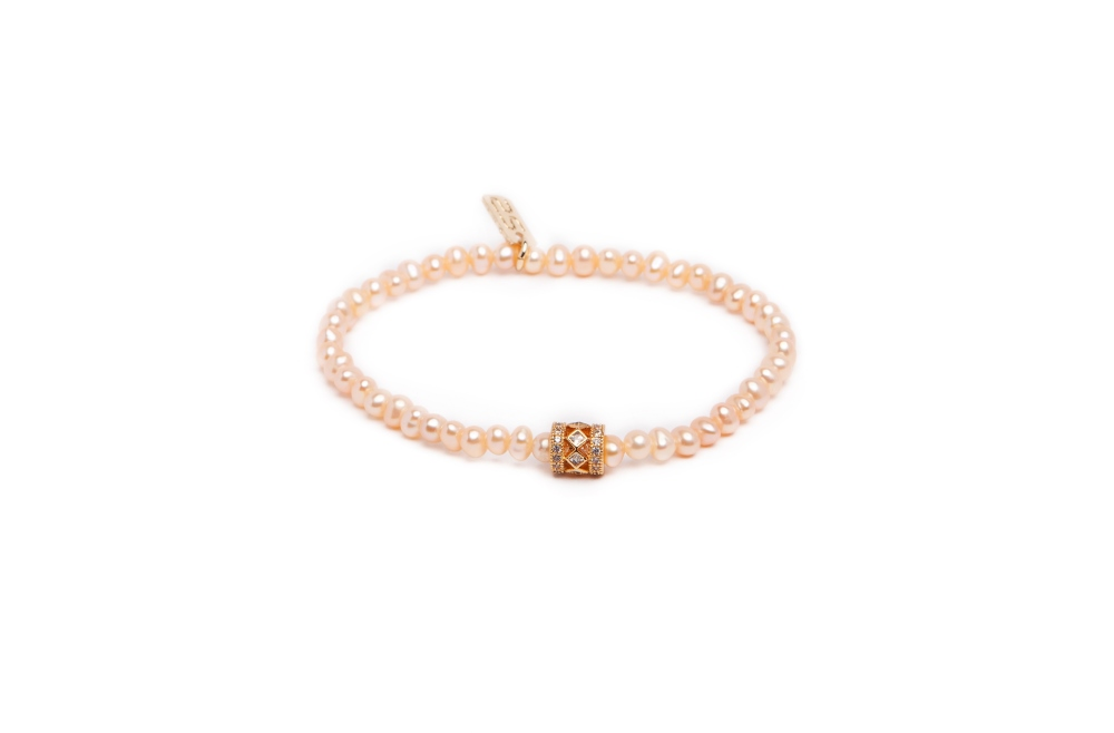 THE PEARL | LIGHT PEACH & GOLD