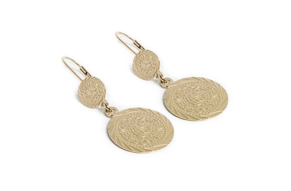 Earrings Gypsy Coin | Gold Out | Silis Oorbellen