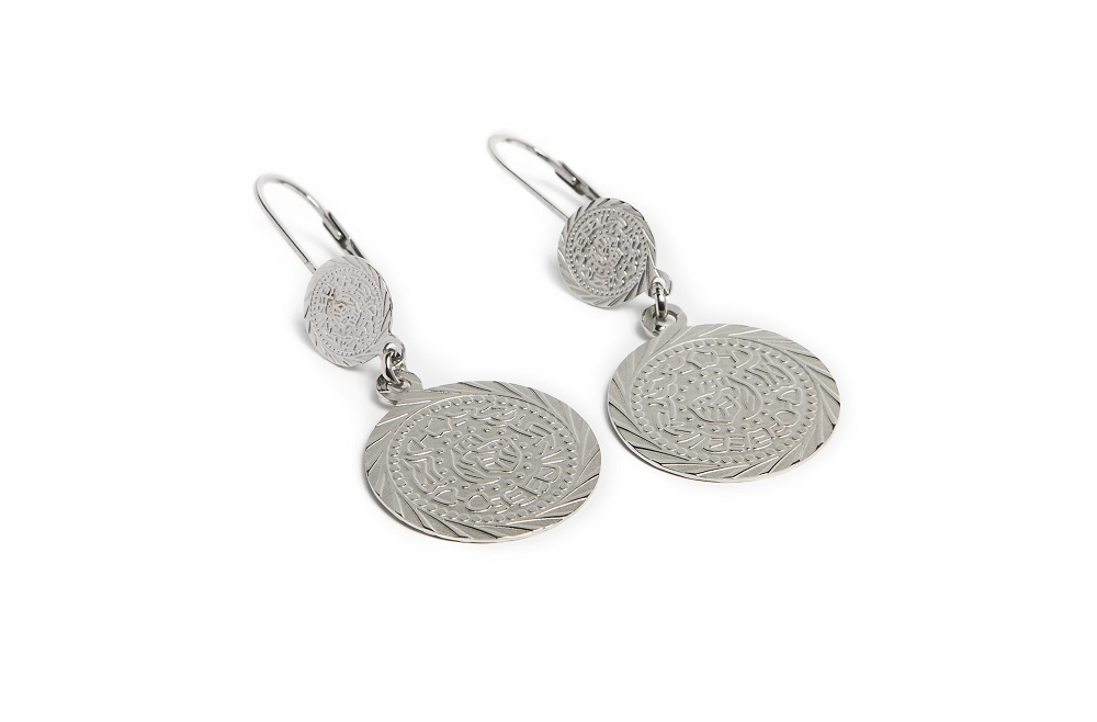 Earrings Gypsy Coin | So Silver | Silis Oorbellen