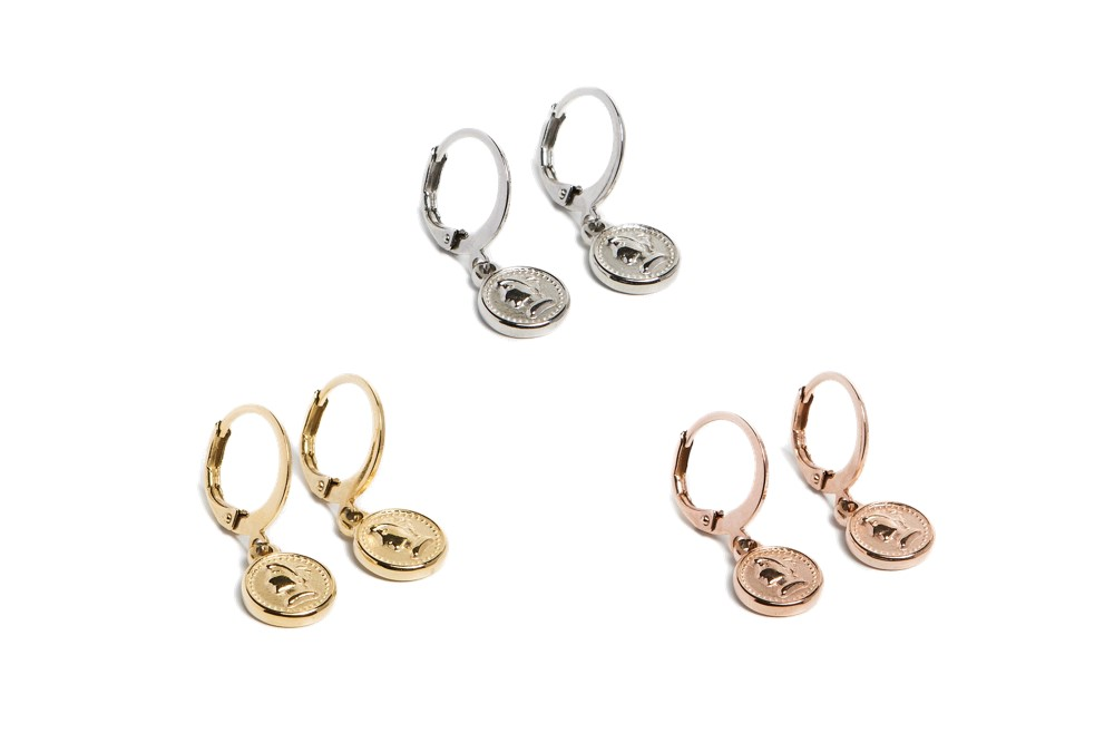 Earrings Mini Coin | Rosé All Day | Silis Oorbellen